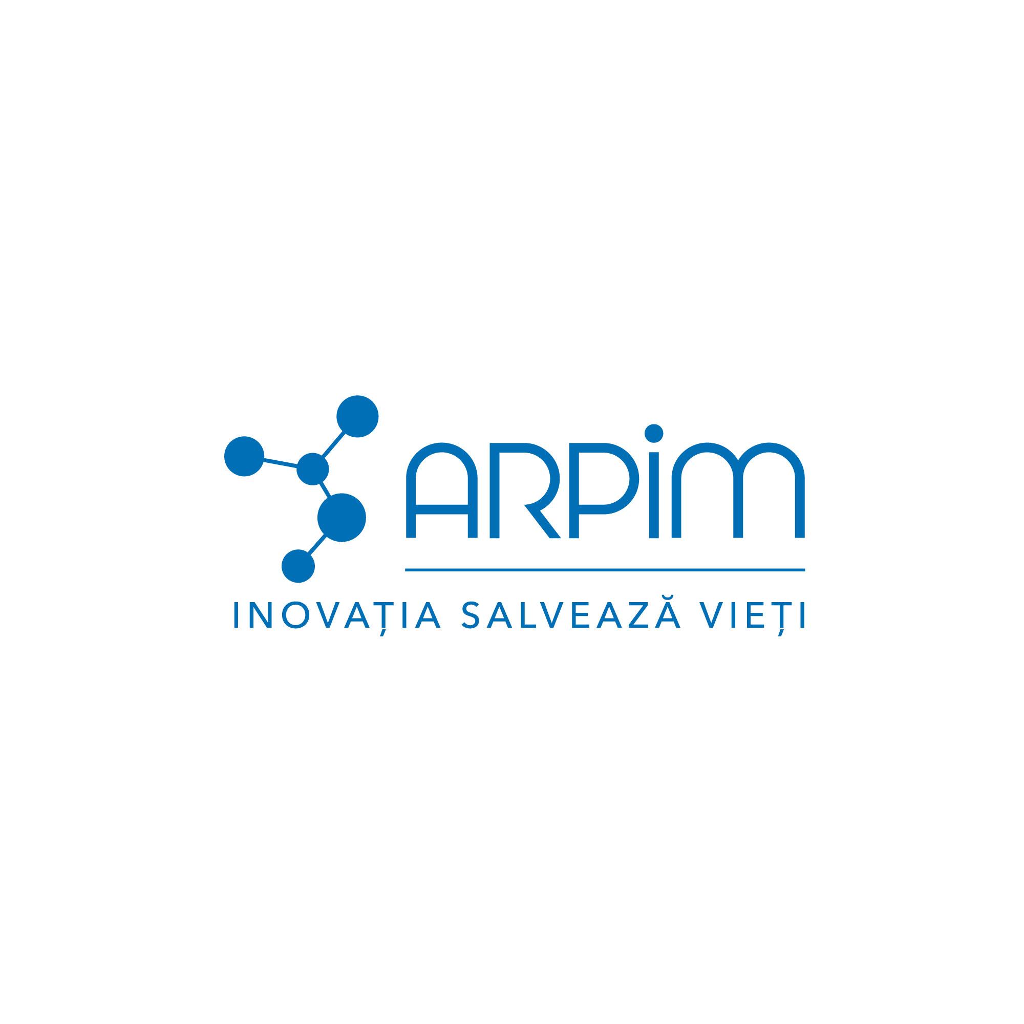 new ARPIM logo blue