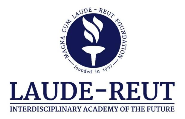 LAUDE REUT logo vertical